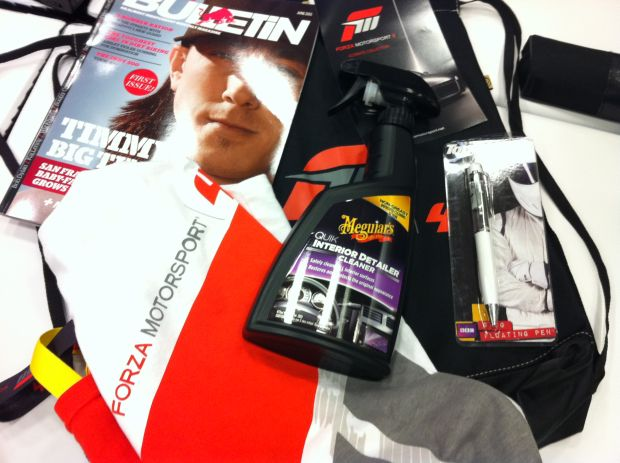 E3: Best swag ever: Forza 4 interior detailer cleaner photo