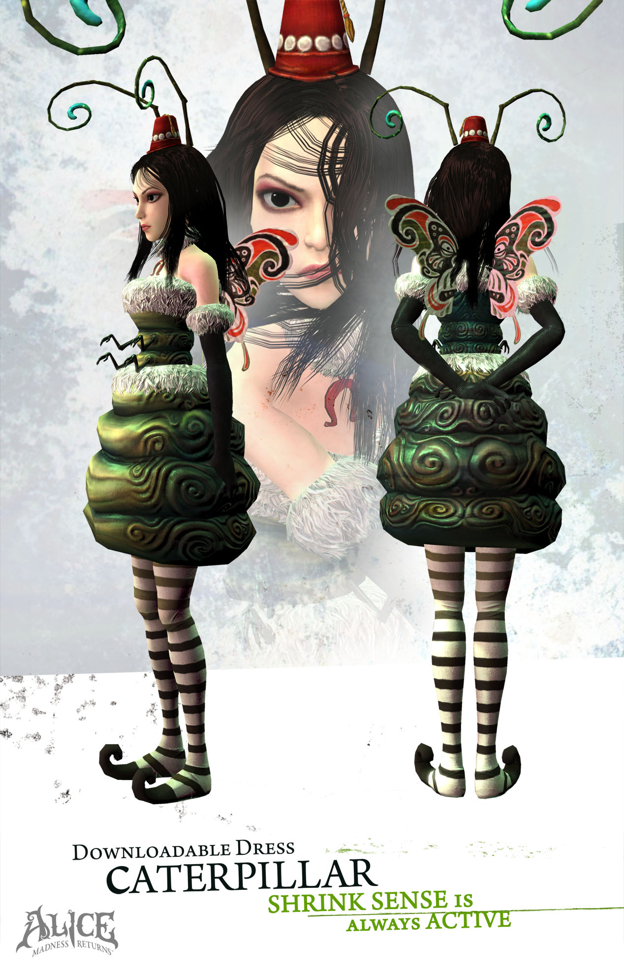 alice in wonderland madness returns outfits