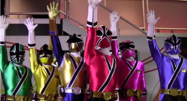 go go power rangers samurai games