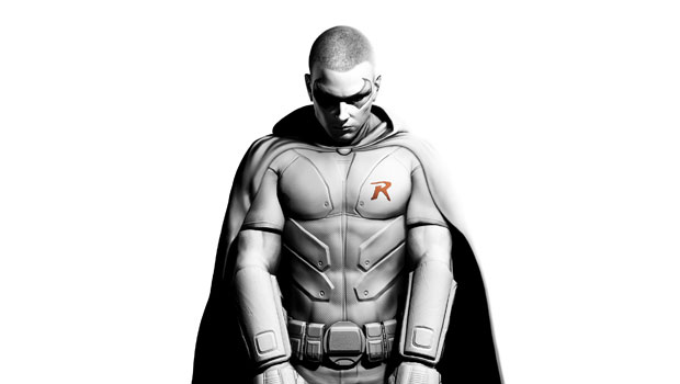 Tim Drake Robin in Batman: Arkham City with pre-order photo