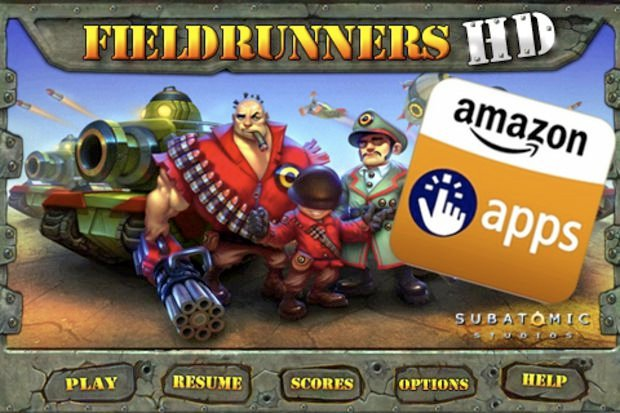 Okay, now Fieldrunners HD will be free on Amazon Appstore screenshot