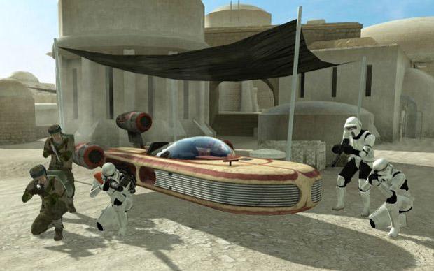 Star Wars: Galactic Warfare mod hits Call of Duty 4 screenshot