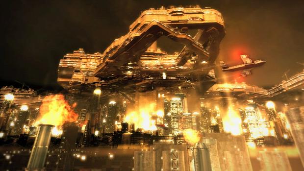 The cities in Deus Ex: Human Revolution screenshot