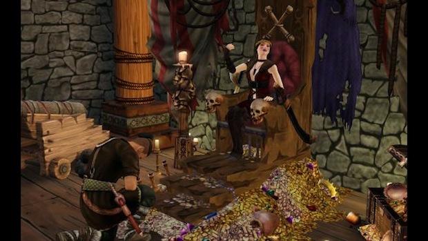 Los Sims Medieval: Piratas y caballeros 205630-thesims1