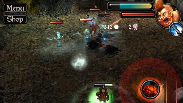 Former BioWare artist announces Emissary of War for iOS screenshot