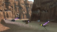 Kinect Star Wars gives us podracing & an amazing console photo