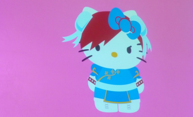 Yes, really: Hello Kitty X Street Fighter collaboration photo