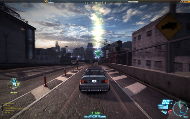 Need For Speed World Gains Treasure Hunt Mode