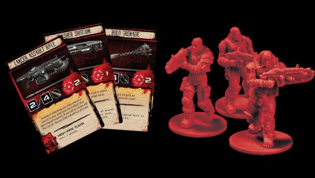 Gears of War: The Board Game arrives next month screenshot
