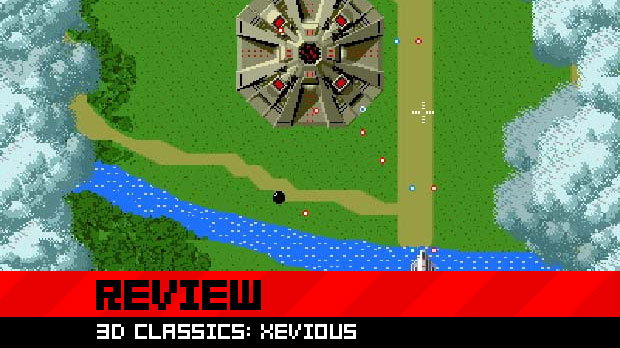Review: 3D Classics: Xevious photo