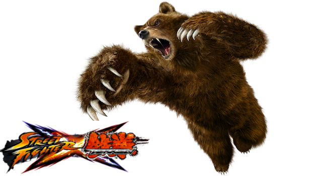 Evo2k11: Kuma revealed for Street Fighter X Tekken screenshot