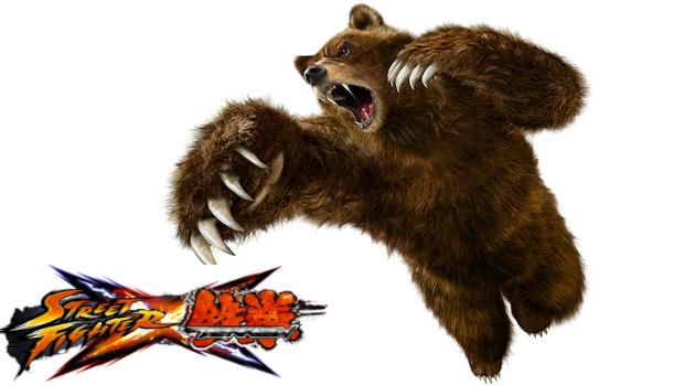 Evo2k11: Kuma revealed for Street Fighter X Tekken screenshot