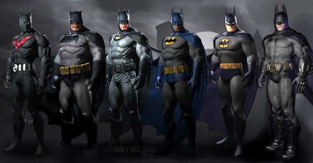 Yep, those Batman: Arkham City outfits will be DLC photo