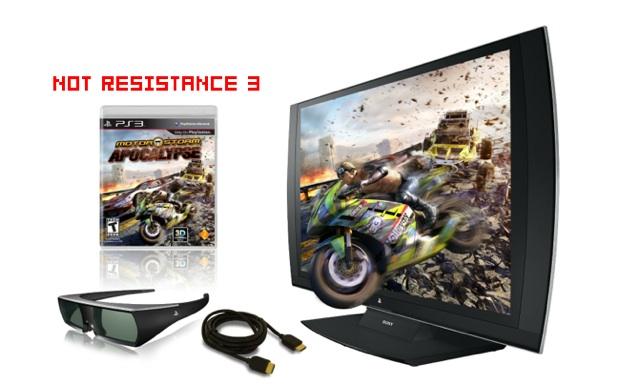 MotorStorm game replaces Resistance 3 in PS 3D TV bundle screenshot