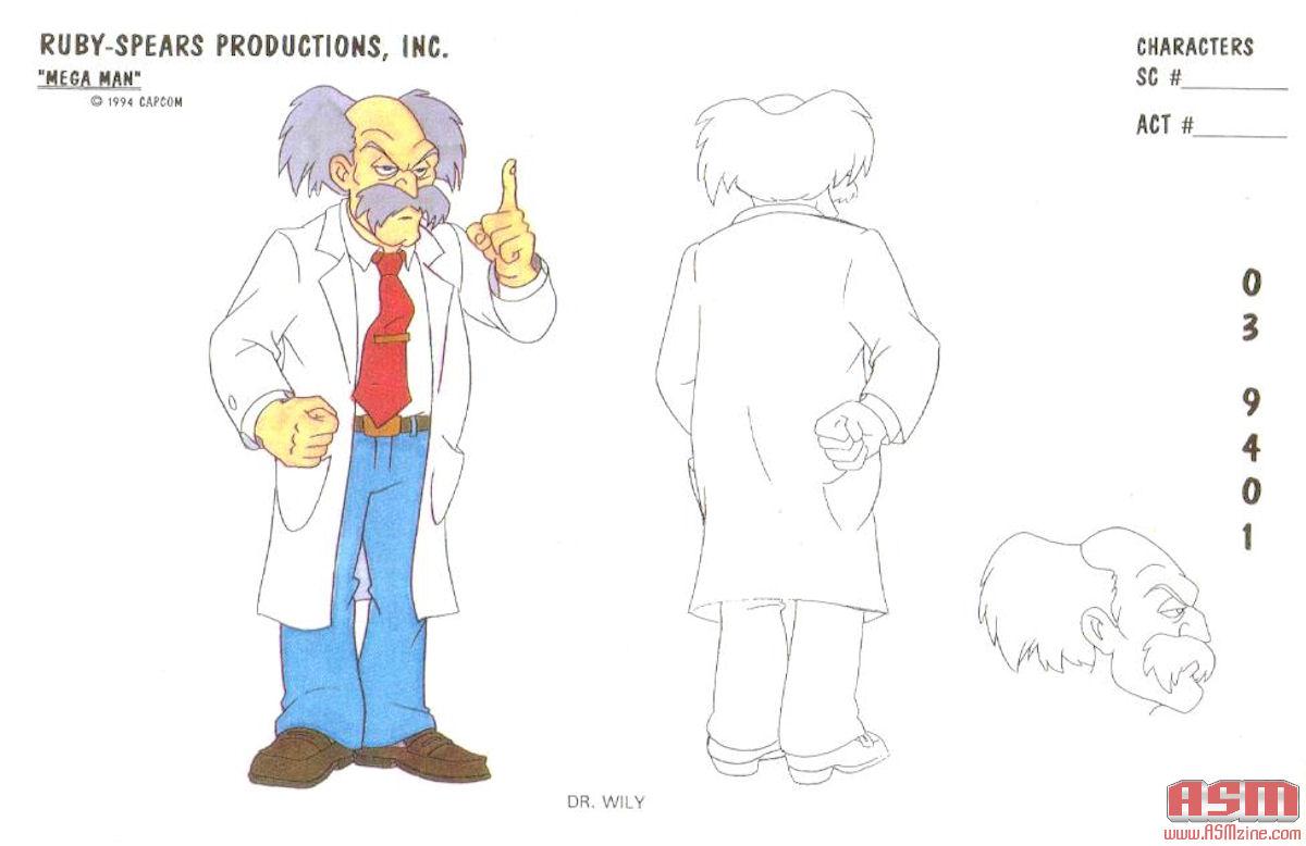 Scooby-Doo co-creator talks about the Mega Man cartoon | 1200 x 778 jpeg 86kB