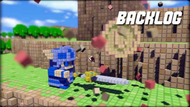 Live Show: Backlog coming at you in 3D (Dot Game Heroes) screenshot