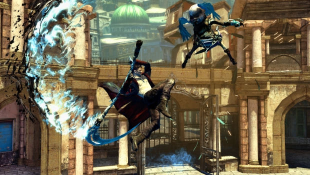 Your first gameplay footage of DmC Devil May Cry screenshot