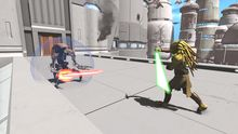 Oh good, some Star Wars Kinect screenshots photo