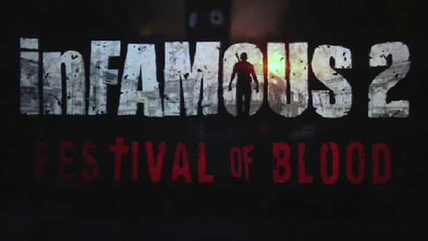 WHAT? inFamous 2: Festival of Blood is Cole gone vampire photo