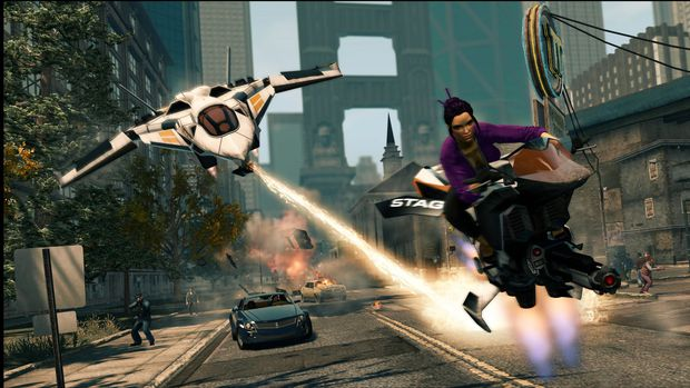 Saints Row: The Third is the definition of a fun game