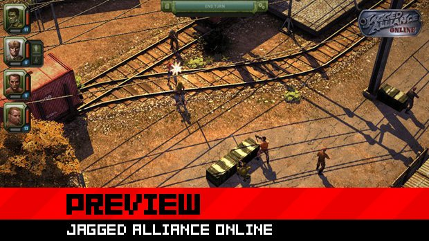 Preview: Jagged Alliance Online screenshot
