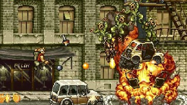 Metal Slug video is a walk in the park screenshot