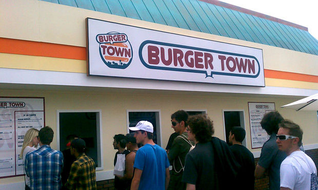 Real life Call of Duty Burger Town is neat, pricey screenshot