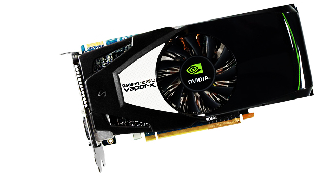 While AMD goes for brains, NVIDIA goes for brawn photo