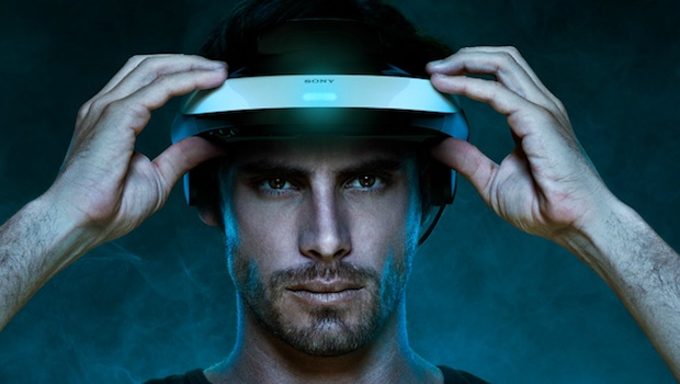 Sony's 3D head-worn visor thing costs $800, supports PS3 photo