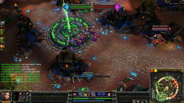 Hands On With The League Of Legends Dominion Beta
