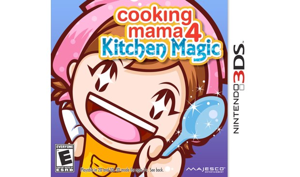 Hot 3ds Cooking Mama 4 Kitchen Magic Screens Cookin 39