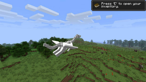 Dragons Come To Minecraft