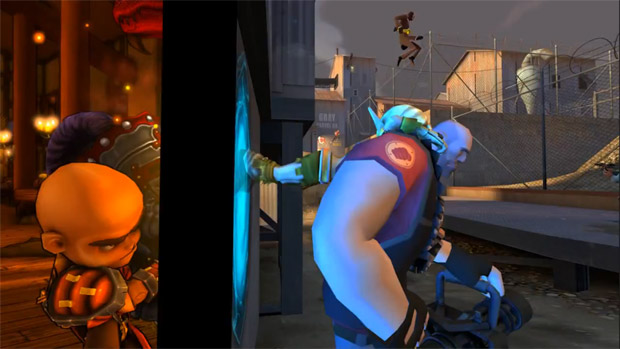 Worlds Collide Dungeon Defenders Gets Tf2 Portal Items