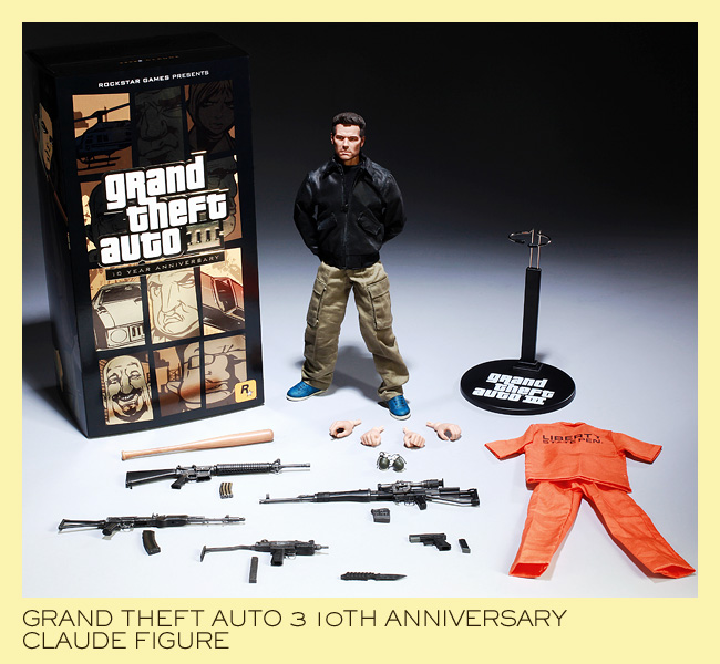 Grand Theft Auto III Hits Mobiles, Also Claude Toy