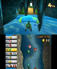 An extensive hands-on look at Mario Kart 7 photo