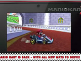 Mario Kart 7 trailer has Mario driving a kart in it photo