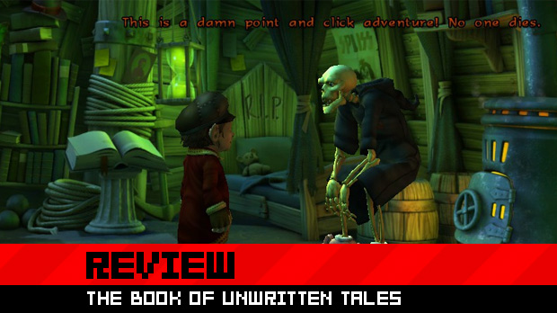 Review: The Book of Unwritten Tales photo