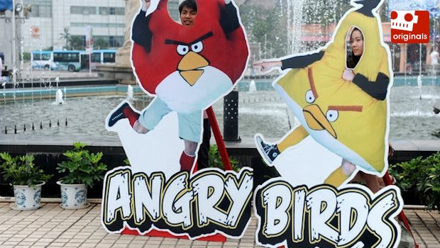 Copyright infringement is alright with Angry Birds photo