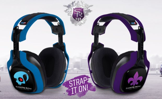 Contest: Win these Saints Row themed ASTRO A40 headsets! screenshot