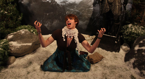 Skyrim launch party, a bardic tale of booze & dragons