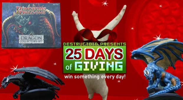 25 Days: Win the D&D Dragon Collector's Set! screenshot