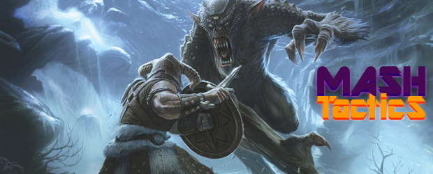 Live show: Skyrim dragon-shouting on Mash Tactics screenshot