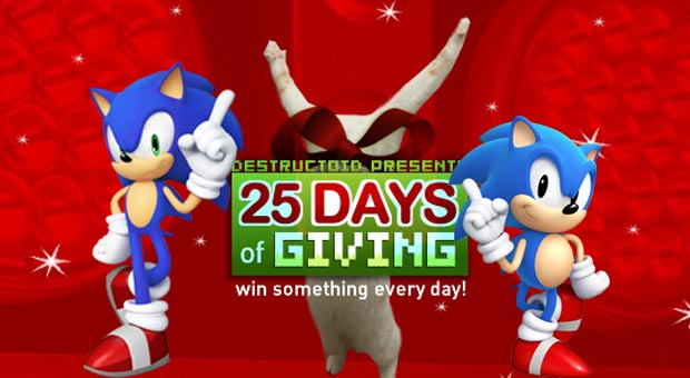 25 Days: Win Sonic Generations and Sonic figures! screenshot