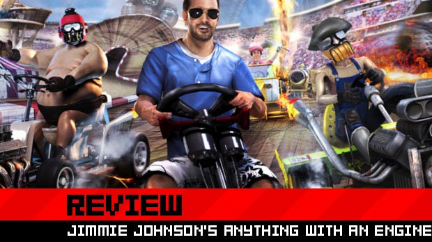review jimmie johnson 39 s anything with an engine