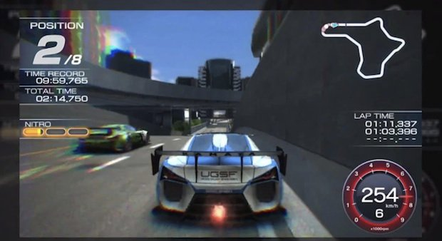 PS Vita Ridge Racer gets a flashy new trailer