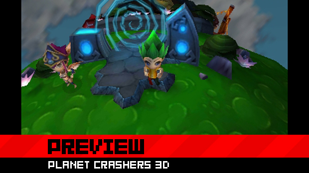 Preview: Planet Crashers 3D photo