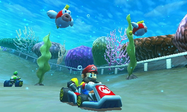 review mario kart 7. Black Bedroom Furniture Sets. Home Design Ideas
