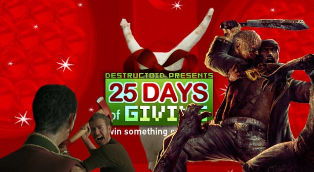 25 Days: Win Dead Island and the Bloodbath Arena DLC! photo