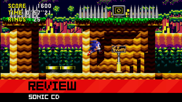 Review: Sonic CD screenshot