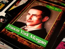Genius! Someone made Deadly Premonition trading cards photo